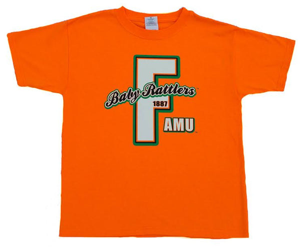FAMU Rattler Baby 1887 T-shirt Orange