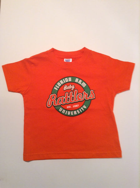 FAMU Circular Tradition T-shirt Orange