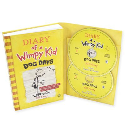 Diary of a wimpy kid dog days book cd australia buy online diary of a wimpy kid dog days book cd by jeff kinney solutioingenieria Gallery