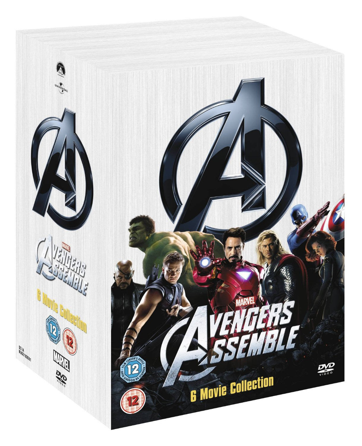 Marvel's The Avengers 6-Movie Collection [DVD]