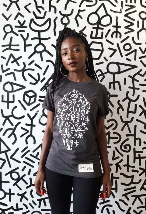 Surf Graffiti Limited Edition Unisex Charcoal Shirt