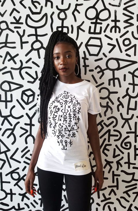 Surf Graffiti Limited Edition Unisex White Shirt