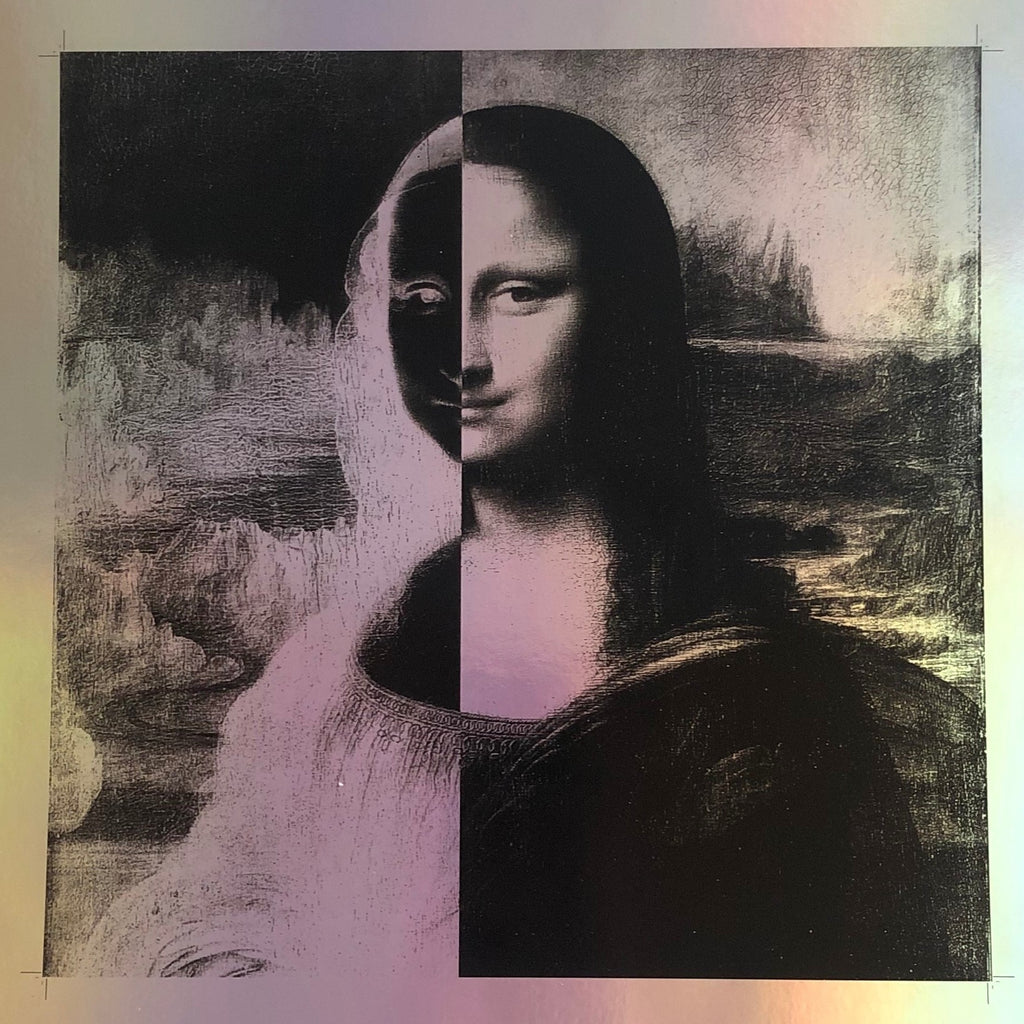 The Modern Mona - Augmented Set -  Paper and Fabric