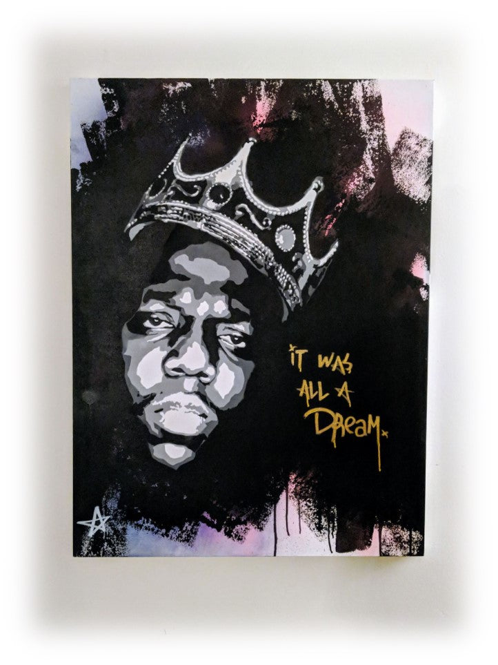 It Was All A Dream (Biggie) - Original Painting