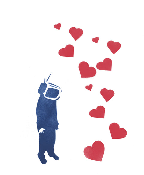 TV Head Limited Edition Print