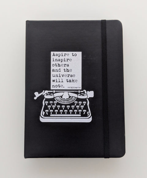 WRDSMTH Journal - Aspire -  Paper and Fabric