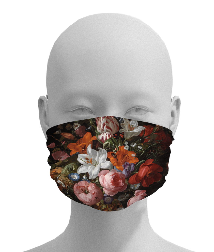 Flowers in a Glass Vase Mask
