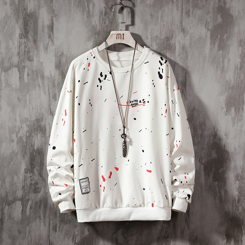 Graffiti Unisex Sweatshirt - White -  Paper and Fabric