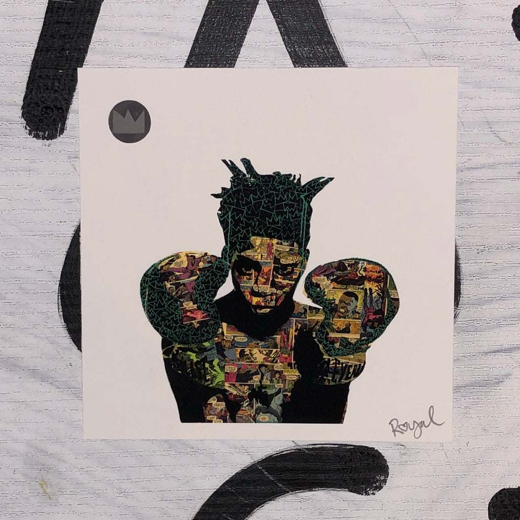 Basquiat Mini Print