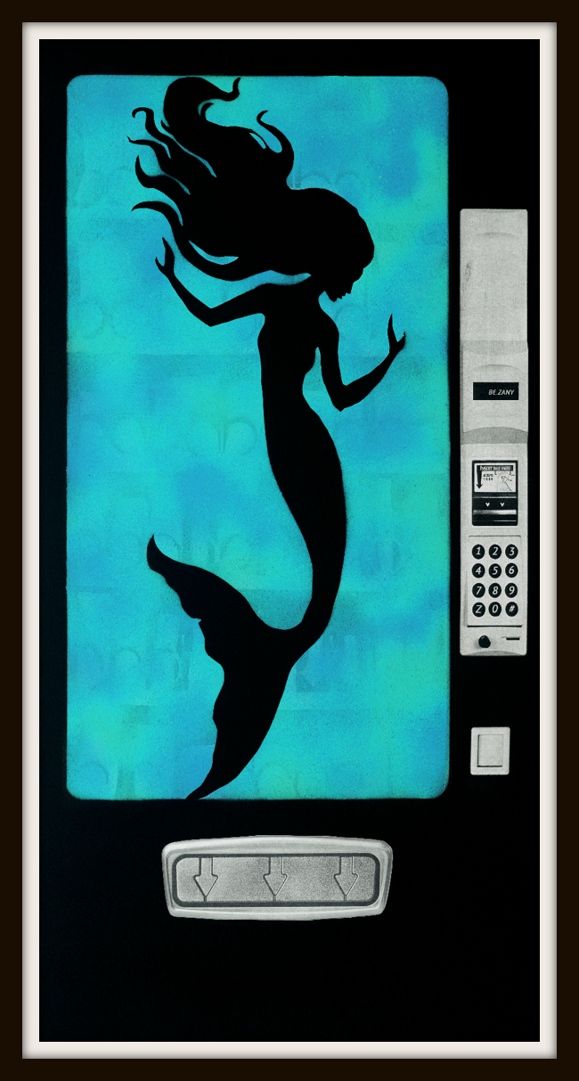 Mermaid in the Machine Limited Edition Print