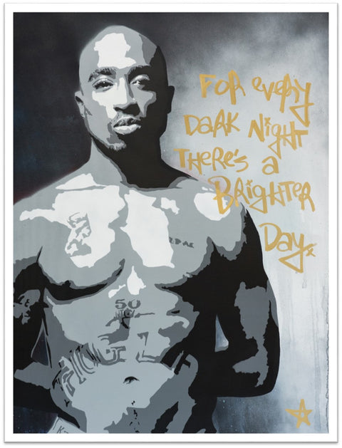 Brighter Day (Tupac) Limited Edition Print