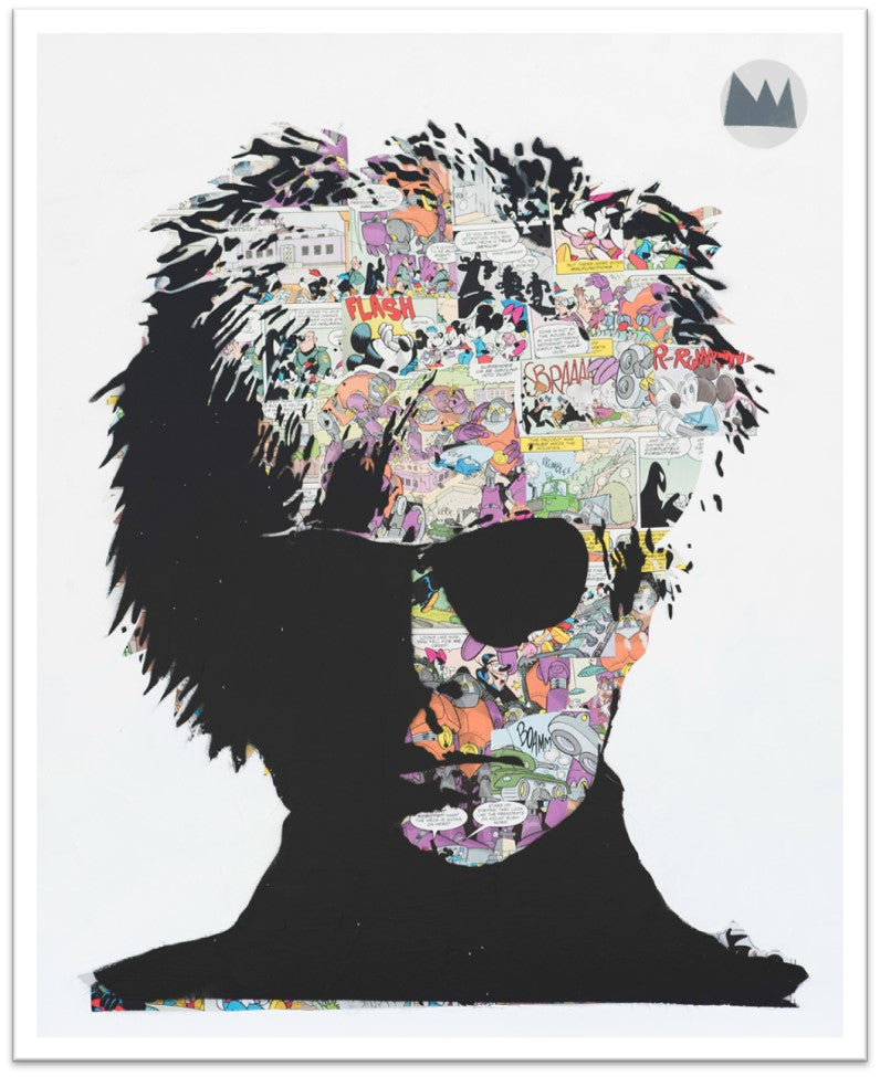 1313 Warhol Limited Edition Print -  Paper and Fabric