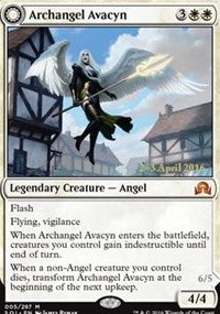 Magic the gathering Archangel Avacyn (foil) Prerelease Cards