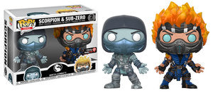 Scorpion (Frozen) & Sub-Zero (Flames) (2-Pack) Exclusive
