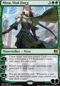 Magic the gathering Nissa, Vital Force (nonfoil)
