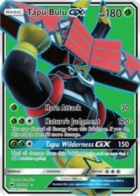 Pokemon Tapu Bulu GX (foil) full art version