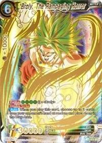 Dragon Ball Super Single Broly, The Rampaging Horror (SPR) (foil)