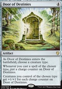 Magic the gathering Door of Destinies (nonfoil)