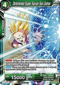 Dragon Ball Super Single Determined Super Saiyan Son Gohan (foil) promo