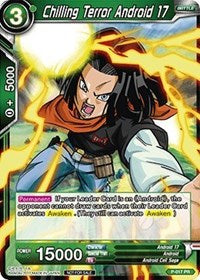 Dragon Ball Super Single Chilling Terror Android (foil) promo