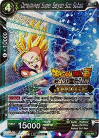 Dragon Ball Super Single Determined Super Saiyan Son Gohan (foil) judge promo