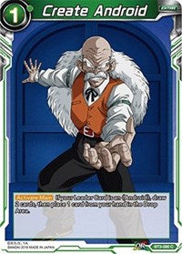 Dragon Ball Super Single Create Android (foil)
