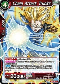 Dragon Ball Super Single Chain Attack Trunks (nonfoil)