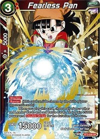 Dragon Ball Super Single Fearless Pan (foil)