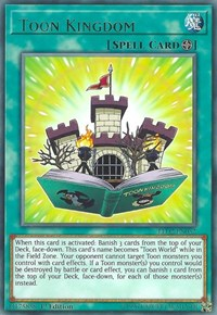 Yugioh Toon Kingdom (nonfoil) 1st edition
