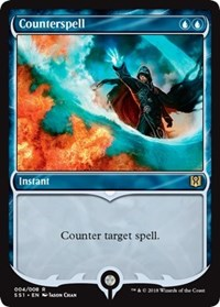 Magic the gathering Counterspell (foil)