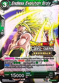 Dragon Ball Super Single Endless Evolution Broly (foil) judge promo