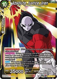 Dragon Ball Super Single Absolute Justice Jiren (foil)