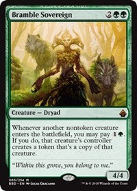 Magic the gathering Bramble Sovereign (nonfoil)