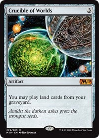 Magic the gathering Crucible of Worlds (nonfoil)