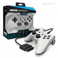 """Warrior"" Premium Controller for PS2 (White)"