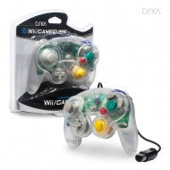 Wired Controller for Wii/ GameCube (Clear) - CirKa