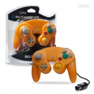 Wired Controller for Wii/ GameCube (Orange)