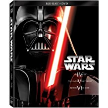 Star Wars Trilogy Episodes IV-VI (Blu-ray + DVD) [2013] (Pre-Owned)