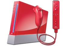 Red Nintendo Wii System (Pre-Owned)