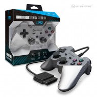 """Warrior"" Premium Controller for PS2 (Silver)"