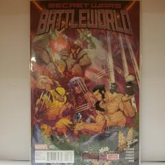 Secret Wars Battleworld #003 Marvel 2015 (Fair Condition)