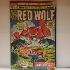 Red Wolf Comic Book #9 (Poor Condition)