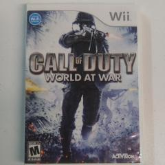 Call of Duty World at War (Wii)