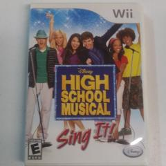 High School Musical Sing It (Wii)