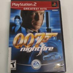 007 Nightfire [Greatest Hits] (PS2) Manual Included