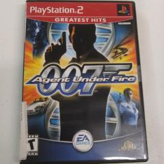 007 Agent Under Fire (PS2) Manual Included