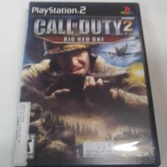 Call of Duty 2 Big Red One (PS2) Manual Included