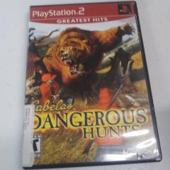 Cabela's Dangerous Hunts [Greatest Hits] (PS2) Manual Included