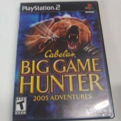 Cabela's Big Game Hunter 2005 Adventures (PS2) Manual Included