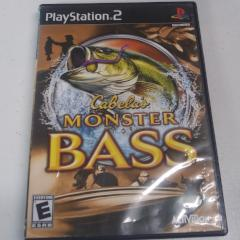 Cabela's Monster Bass (PS2) Manual Included
